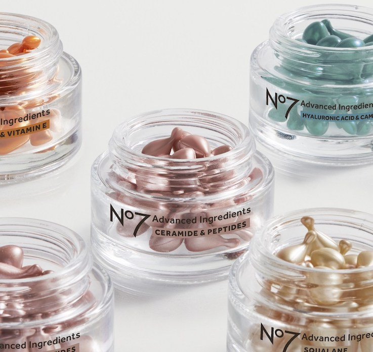 No.7 Advanced Ingredients facial Capsules