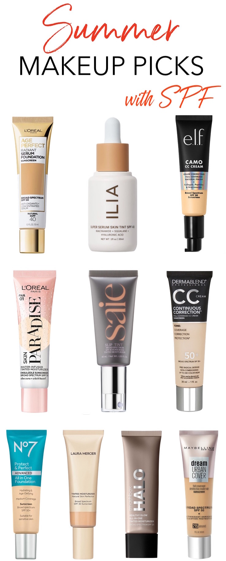 Best Makeup With SPF: Drugstore to High-End (For Every Skin Type)